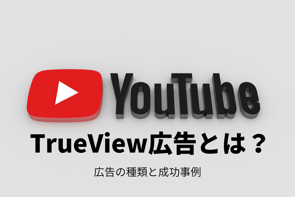 YouTubeのTrueView広告とは?広告の種類と成功事例